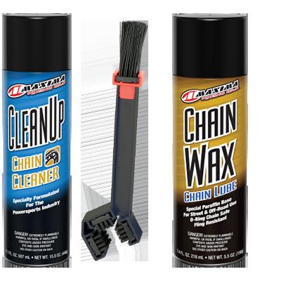 Motorcycle Chain Maintenance Kit